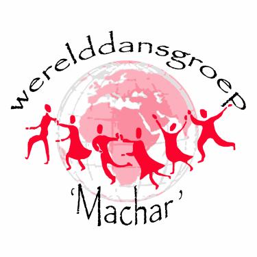 Logo Werelddansgroep Machar